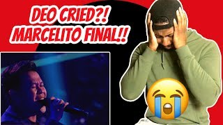 OMG! Marcelito Pomoy Sings Beauty & The Beast | AGT Champions (Reaction)