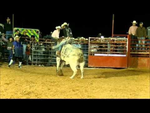 Bull Riding - Xavier Hunt - Hwy 160 Bull Riding Extreme - Tuba City, AZ.