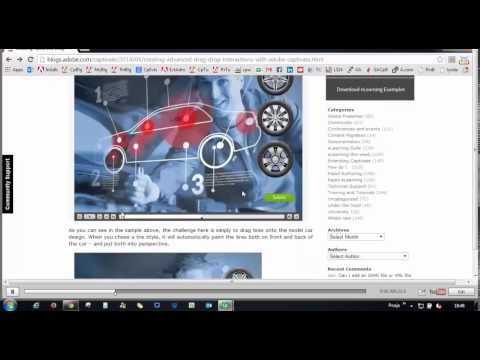 Adobe Captivate 8 Video Demo   How to record a video demo