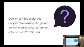 Conférence: «Les couples féminins dans les lieux publics en Estrie: (in)visibilité»