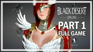 Black Desert Online Walkthrough Part 1 Valkyrie - Full Game Let