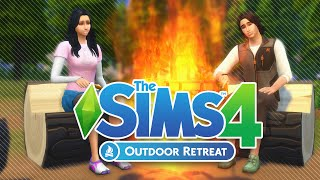 The Sims 4 | Outdoor Retreat - Overview & First Impression
