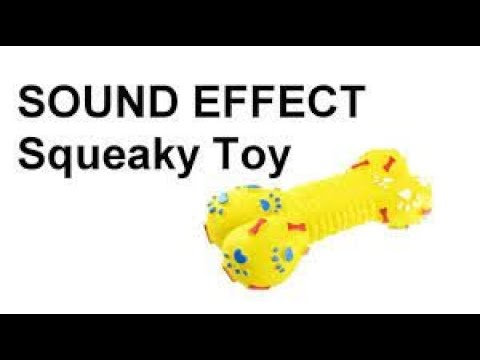 Dogs Squeaky Toy Sound Effect