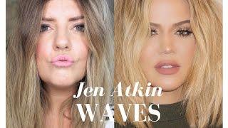Jen Atkin Waves | The Kardashian Look