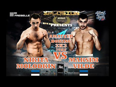 Xplosion 09.05.2015 - Nikita Molodkin vs Maksim Vilde