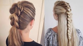 Hairstyles For Long Hair & Hairstyles Tutorials Compilation(part-2)