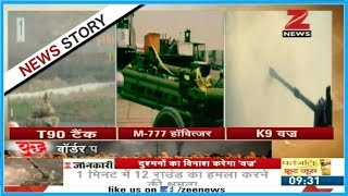 Specialty of advanced weapons T-90 tank, M-777 Howitzer and K9 Vajra that to join Indian army soon