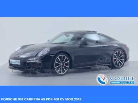 vodiff porsche occasion alsace porsche 991 carrera 4s. Black Bedroom Furniture Sets. Home Design Ideas