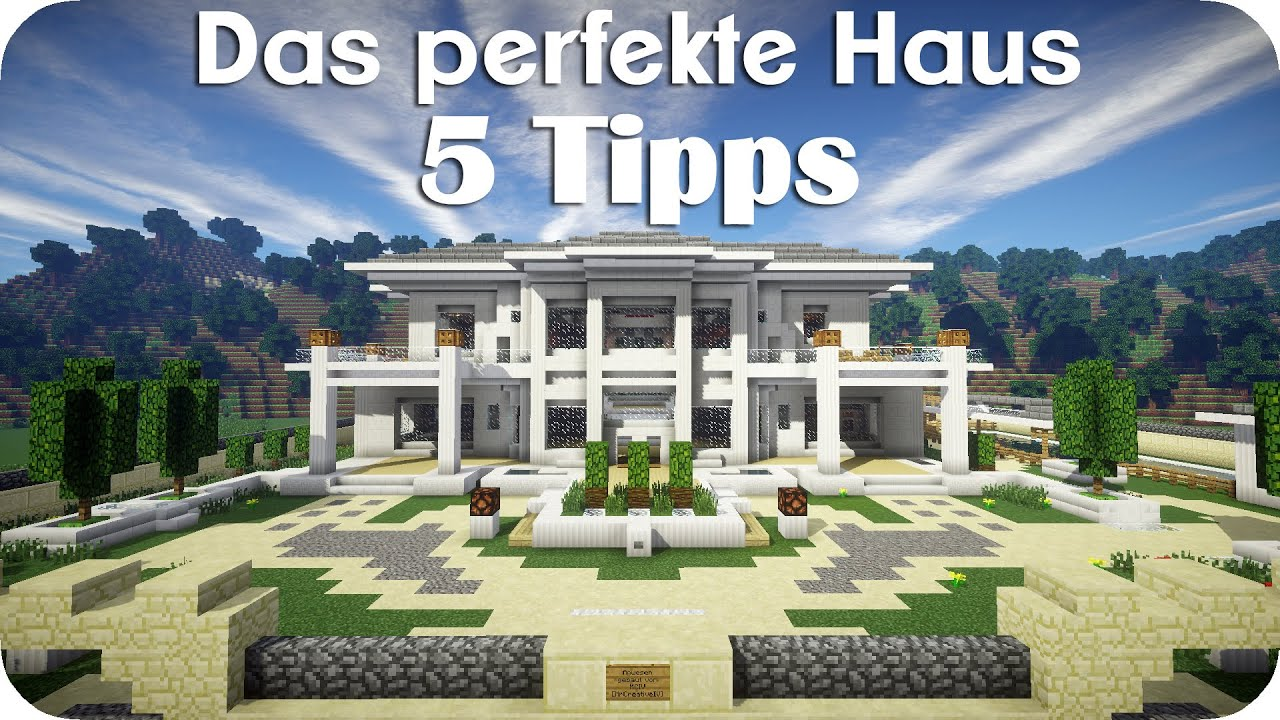 5 Tipps fr das perfekte Haus - Minecraft [DE] [HD] - YouTube
