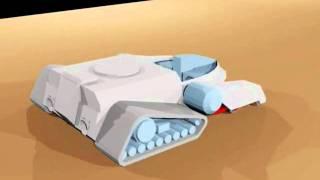Thudertank para Papercraft 001