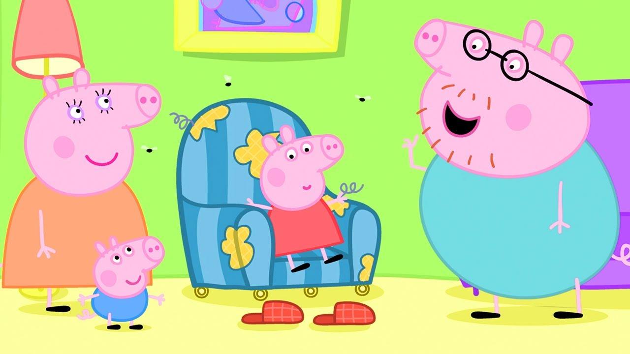 Peppa Pig en Español Episodios completos   ¡La venta en el mercado!   Pepa la cerdita