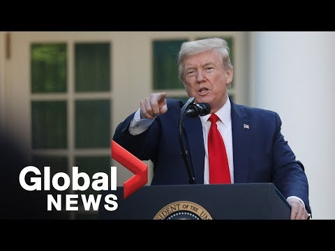 """Coronavirus outbreak: Trump says all parts of U.S. """"either in good shape, getting better"""" 