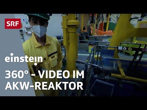 Im Innern des stillgelegten Atomkraftwerk Mühleberg   360-Grad-Video   Einstein   SRF Wissen
