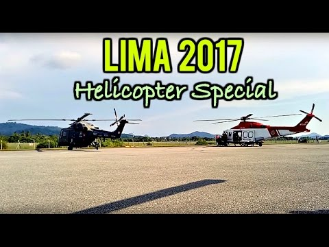 LIMA '17 EXCLUSIVE | Helicopters Take Off