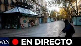 DIRECTO: El Govern anuncia nuevas medidas por el avance del coronavirus en Catalunya