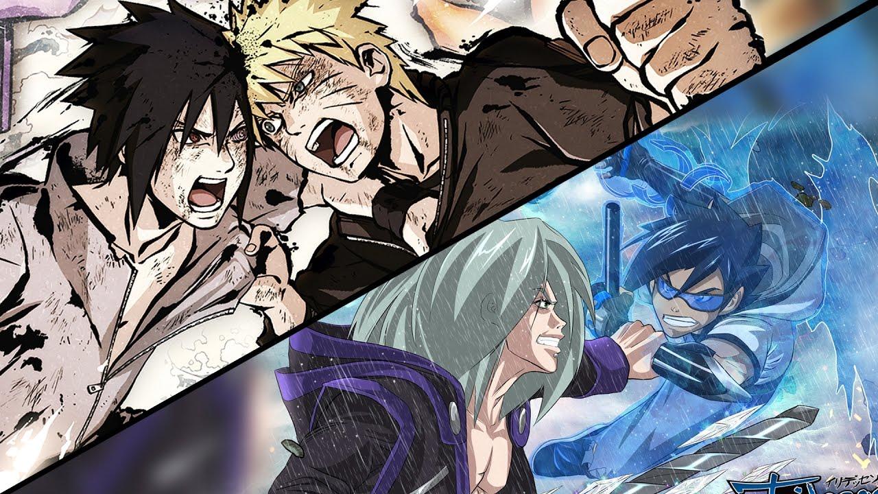 Naruto VS Sasuke Final Battle discussion + Drawing Manga ...