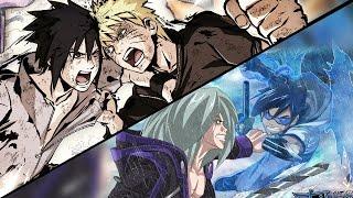 Naruto VS Sasuke Final Battle discussion + Drawing Manga