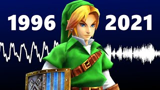 Why doesn't Link's voice sound like it used to?