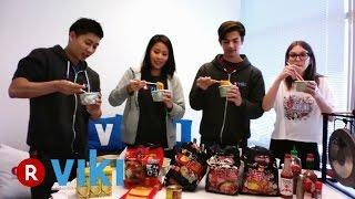 Viki Facebook Live Chat: Spicy Ramen Challenge