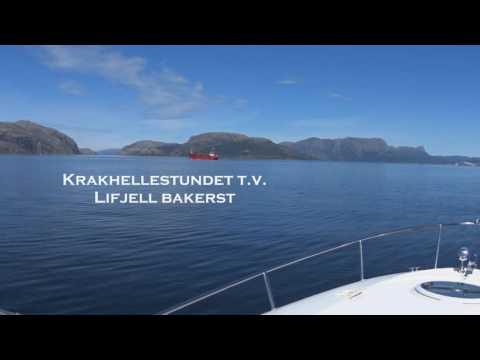 Fra Bergen til Sogn og Fjordane med båt