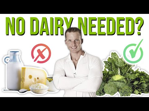 How To Get Calcium Without Drinking Milk ���� (NON DAIRY PALEO FOODS HIGH IN CALCIUM) | LiveLeanTV