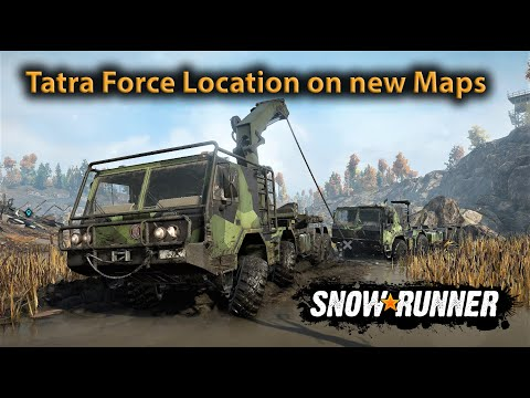 SnowRunner   Phase 5   Location of the Tatra Force T815-7  