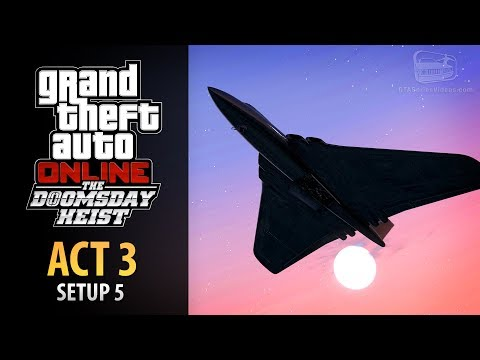 GTA Online: Doomsday Heist Act #3 - Setup: Air Defenses (Elite & Mastermind II)