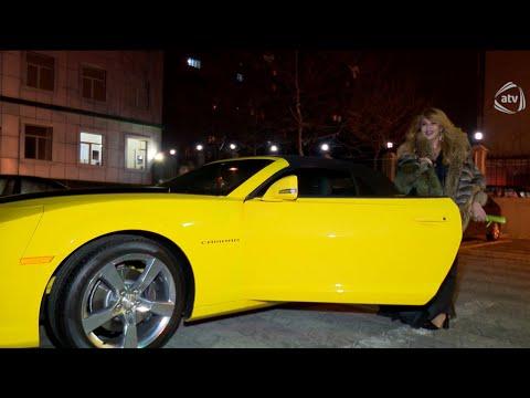 Aygün Kazımova yeni avtomobil aldı