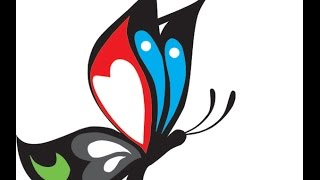 Vector Corel Draw - Membuat Vektor Kupu - Kupu (Butterfly)