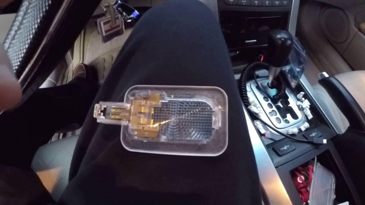 Acura Tl 2004 2008 Led Interior Light Installation
