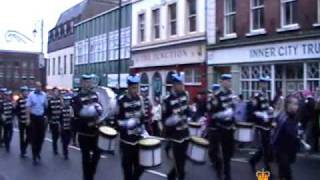 Cullybackey Maine Defenders 5 @ Apprentice Boys of Derry Shutting of the Gates Parade 2009