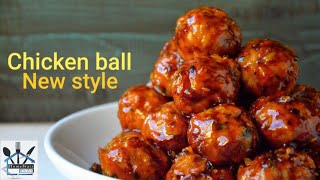 CHICKEN SPONJ BALL WITH GRAVY || DELICIOUS RECIPES | MUST WATCH