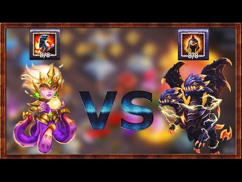 Cirrina 8/8 Stone Skin | VS | Demogorgon 8/8 Wargod | CASTLE CLASH
