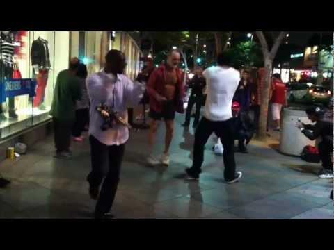 Dancing in Santa Montica