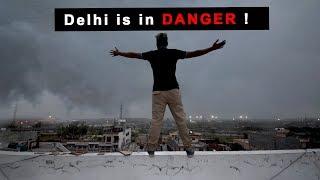 Massive Wind Storm in Delhi, India
