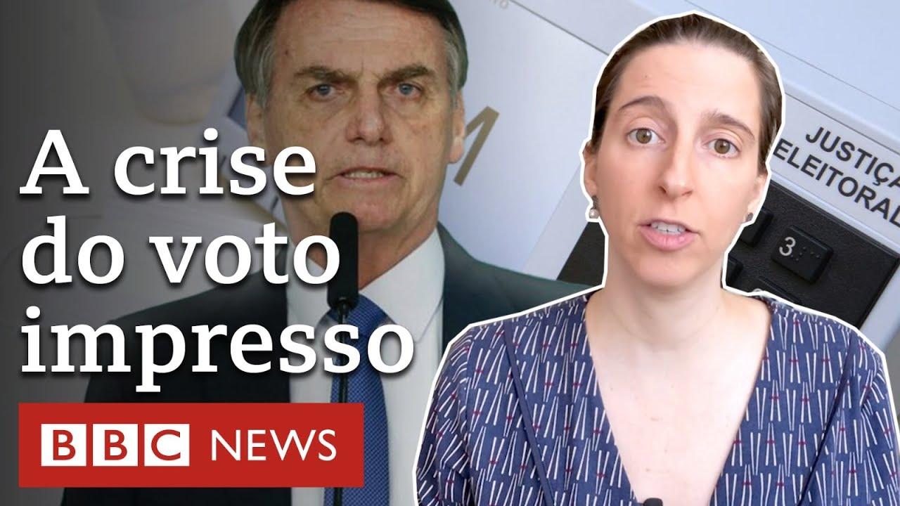 Como campanha por voto impresso pode até tirar Bolsonaro de 2022