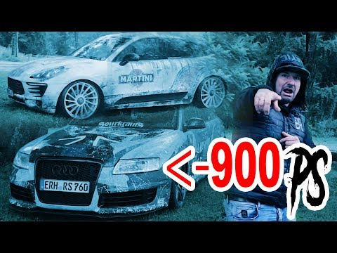 Audi rs6 mit 900 ps! Porsche Macan Diesel S TT Studio Moskau Folierung - Wörthersee 2017 Gepfeffert