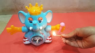Experiment: Toy vs Fire