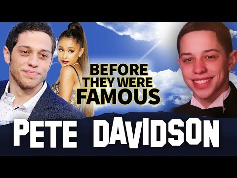 PETE DAVIDSON  Before They Were Famous  SNL Actor  Comedian