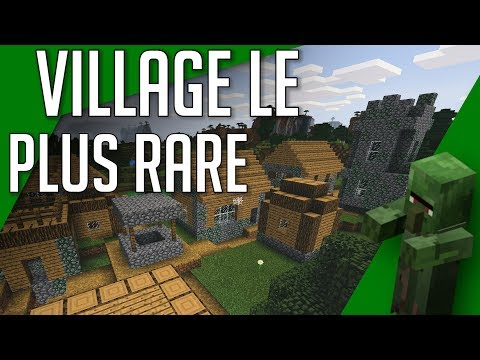 Le Village le Plus Rare de Minecraft