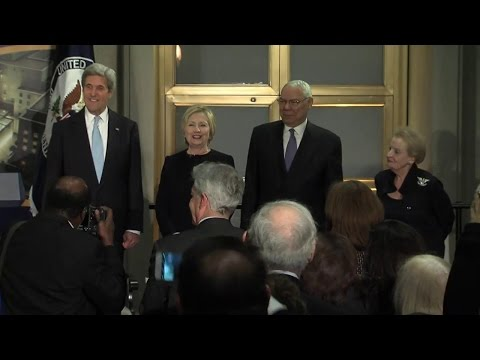 Remarks by Secretaries of State Baker, Albright, Powell, Clinton at U.S. Diplomacy Center Completion
