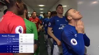 Wayne Rooney Ignoring Paul Pogba In Everton's Tunnel | 2018 | HD