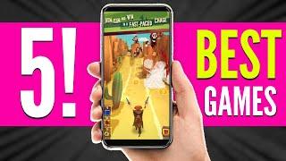Top 5 Most Addictive Android Games - Techno Tunes ( 2018 )
