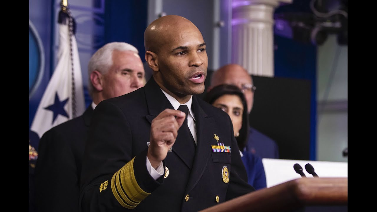 My interview with US Surgeon General Adams (July 17, 2020)