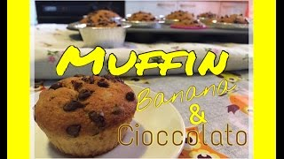 🎂 Let's Cake 🍰 - Muffin Banana & Cioccolato!