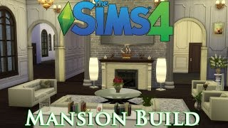 The sims 4 - Let's build a mansion! (Episode 3) Livingroom.