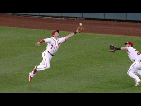 NYM@WSH: Turner avoids collision, makes...