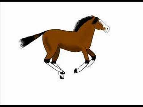 Horse Animated - YouTube - photo#41
