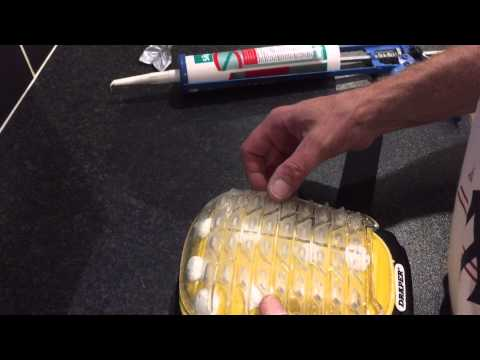 Painting & Decorating, How to customise your knee pads