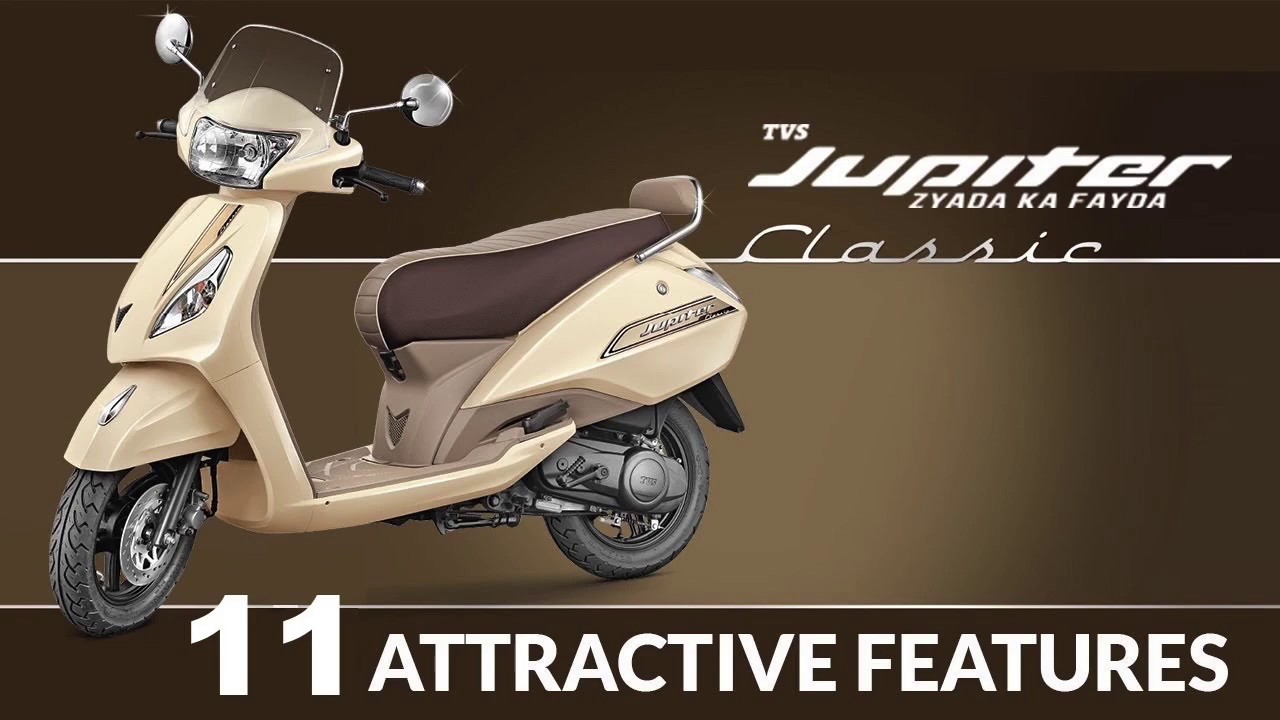11 Attractive Features Of Tvs Jupiter Classic Edition Youtube